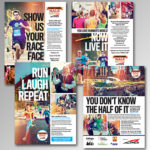 Rodale's Runner's World Print Ad Campaign